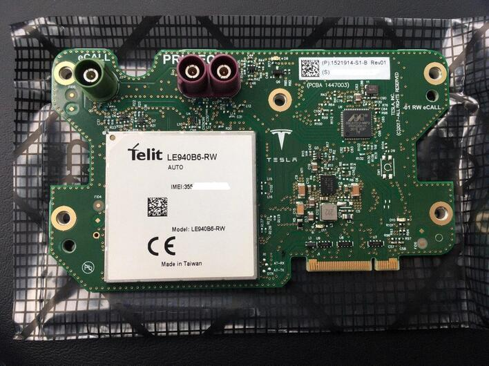 FUSED,TST&CONFIG CONNECTIVITY CARD,eCall